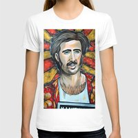 nicolas cage T-shirts featuring Raising Arizona Nicolas Cage by Portraits on the Periphery