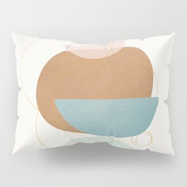 Soft Abstract Shapes 12 Pillow Sham
