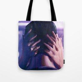 BLADE RUNNER Painting Poster | Kiss Scene Tote Bag