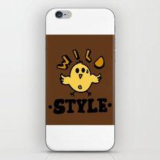 wild style iPhone & iPod Skin