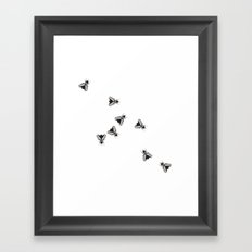 The Flies Framed Art Print