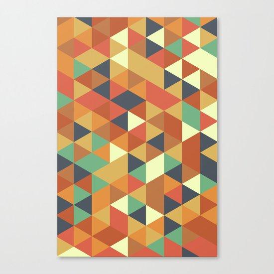 Triangle Pattern II Canvas Print