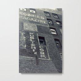 Hobbies Magazine Building Metal Print