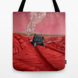 Green Mars Tote Bag