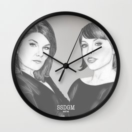 Stay Sexy, Don't Get Murdered Wall Clock