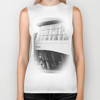 mercedes Biker Tanks featuring MERCEDES-BENZ MUSEUM by GL-ART-PHOTOGRAPHY