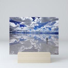 Salar de Uyuni, Bolivia Mini Art Print