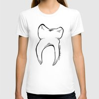 tooth T-shirts featuring Tooth by Addison Karl