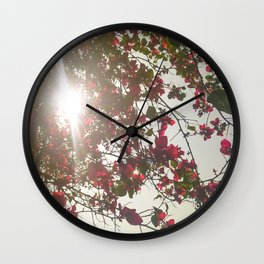 Bright Morning Wall Clock