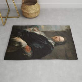 "Sir Anthony van Dyck ""Nicolas Lanier"" Rug"