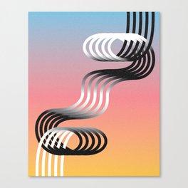 SHARE GAIN  Canvas Print