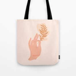 Abstraction_NAMASTE_LOVE_Minimalism_001 Tote Bag