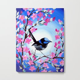 Superb Fairy Wren Metal Print