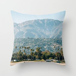 Coastal Santa Barbara 02 Throw Pillow