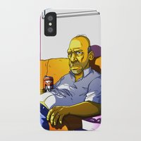 homer iPhone & iPod Cases featuring Depressed Homer by Adrien ADN Noterdaem