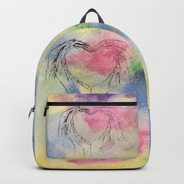 We Share One Heart Backpack