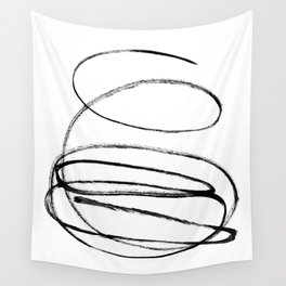 My mind is a mess. Wall Tapestry