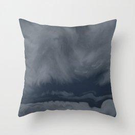 Storm Front (Cloud series #5) Throw Pillow