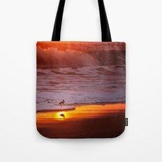 Sunny Sandpiper Tote Bag