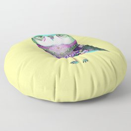Owl Print Floor Pillow