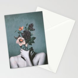 inner garden 3 Stationery Cards