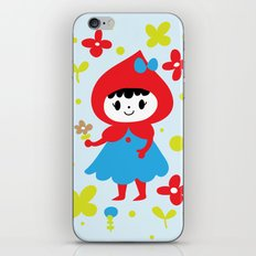 Red Riding Hood in the Forest iPhone & iPod Skin