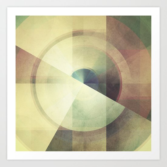 deconstruct .2 Art Print