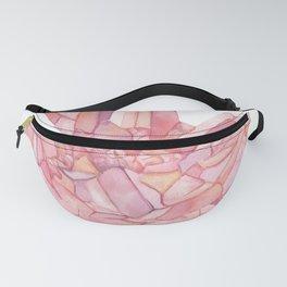 Rose Quartz Crystal Fanny Pack