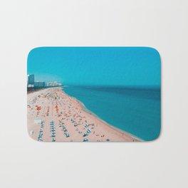 Turquoise Ocean Miami Beach Bath Mat