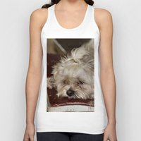teddy bear Tank Tops featuring Teddy Bear by IowaShots