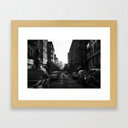 NYC street Framed Art Print