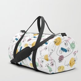 Female Portraits #society6 #figurative Duffle Bag