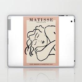 Henri matisse sleeping woman, matisse cut outs, cream and pink Laptop & iPad Skin