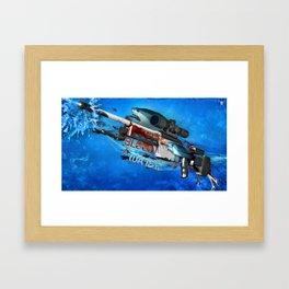 Sniper Rifle 2 Framed Art Print