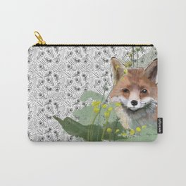 Shy Fox Carry-All Pouch