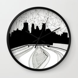 Dreaming the downtown Wall Clock