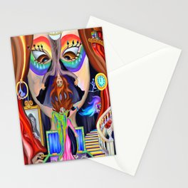 Welcome to the Masquerade  Stationery Cards