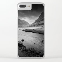 My Heart Is In The Highlands Clear iPhone Case