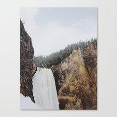Lower Yellowstone Falls Canvas Print