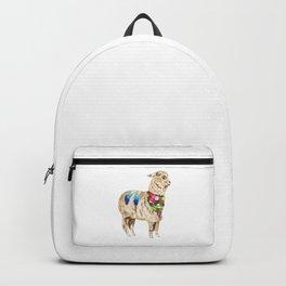 Peruvian Llama Backpack
