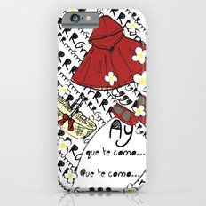 Little Red Riding Hood by Piarei iPhone 6s Slim Case