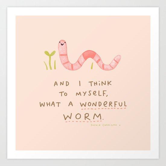 Wonderful Worm by sophiecorrigan