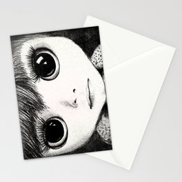 little girl /Agat/ Stationery Cards
