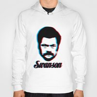 swanson Hoodies featuring Swanson by ThePencilClub