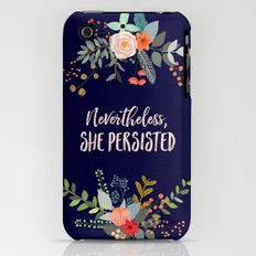 Nevertheless, She Persisted Slim Case iPhone (3g, 3gs)