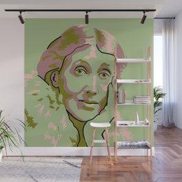 Virginia Woolf Wall Mural