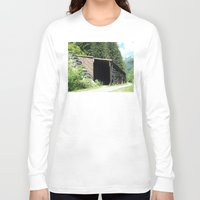 john snow Long Sleeve T-shirts featuring Snow Shed by NoelleB