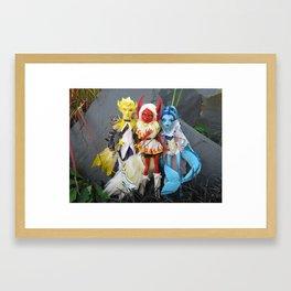 Original Three Framed Art Print