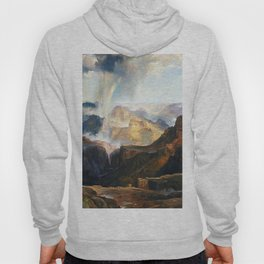 The Chasm Of The Colorado 1874 By Thomas Moran | Scenic Earthy Reproduction Hoody