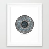 verse Framed Art Prints featuring Quran Verse by Quran Quotes Daily